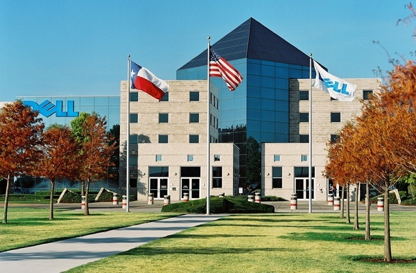 Dell's headquarters--just one of many large employers located in Austin