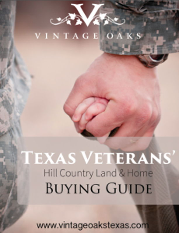 Click to Download the Texas Veterans' Hill Country Buying Guide