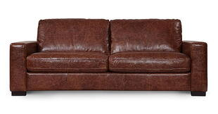 Low Design Leather Couch