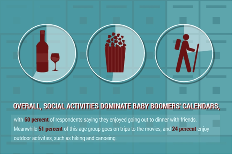 Baby Boomer Social Activities