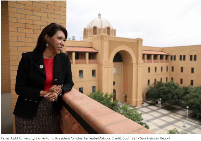 Dr. Cynthia Teniente-Matson, President of Texas A&M - San Antonio